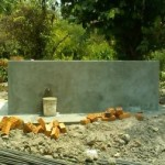 Brick water tank for general used near woman hostel
